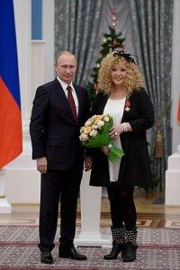 Алла Пугачева награждена Орденом «За заслуги перед Отечеством»  IV степени